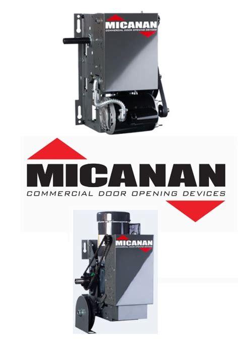 micanan commercial garage door openers