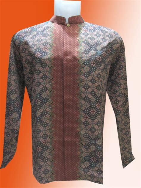Jas Batik Baju Batik Simple Mega Mendung Kera Shanghai Batik