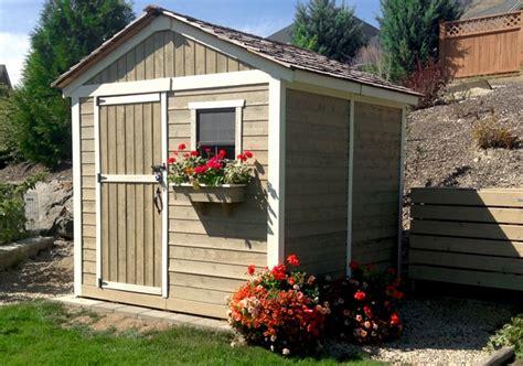 garden shed  gardener outdoor living today
