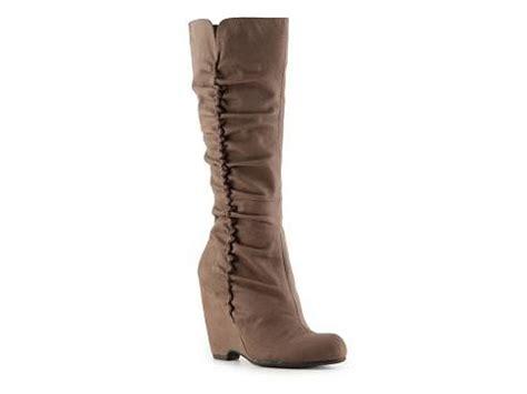 bellview wedge boot dsw