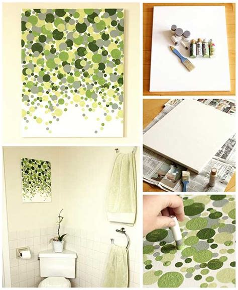 diy paintings for home decor 27 easy diy ways to make your walls look uniquely amazing