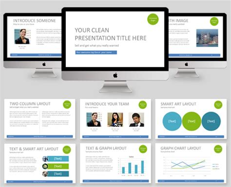 clean powerpoint template casseh info