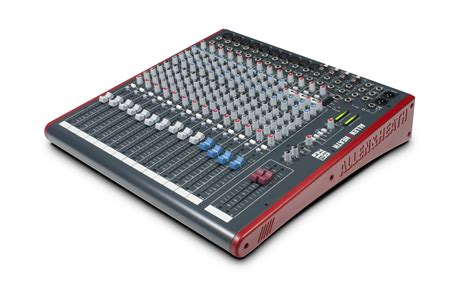 Allen Heath Mixer Live Zed18 zed 18 allen heath