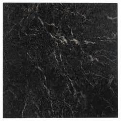 nexus black with white vein marble 12x12 self adhesive