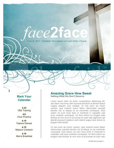 amazing newsletter templates 1000 images about church newsletter ideas on