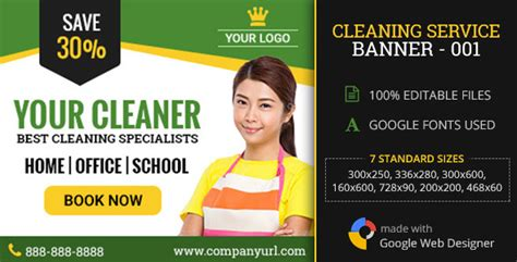 gwd cleaning service ad 001 theme for u