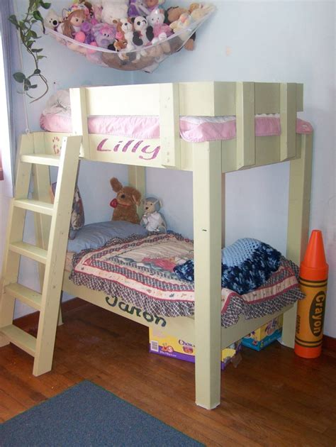 sized bunk beds space saver crib size bunk bed for toddler 2015 trend homesfeed