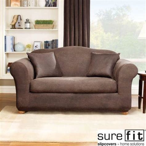 Furniture Covers For Leather by Leather Sofa Slip Cover Ebay