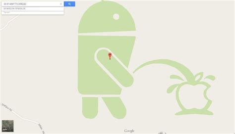 apple maps for android android logo on apple logo in maps