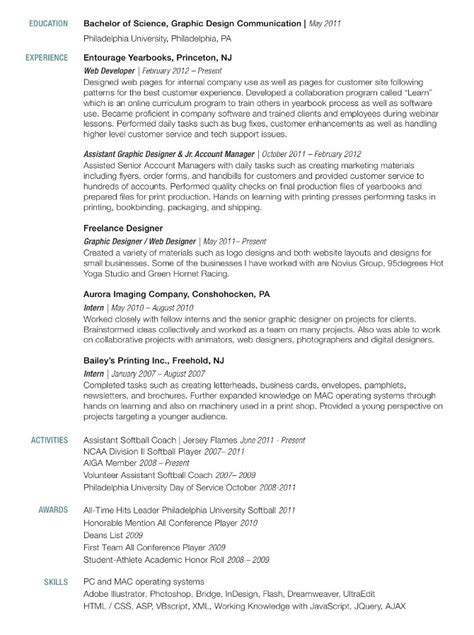 graphic designer resume sle india a sequel to the diversions of purley containing an essay