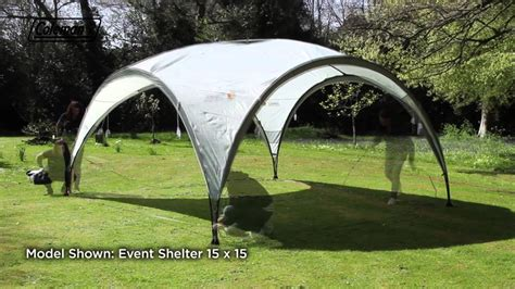 pavillon 4 x 5 meter coleman 174 event shelter 12x12 the ideal shelter for the