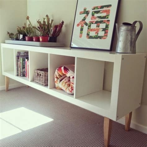 bureau ik饌 ikea hack customiser l 233 tag 232 re expedit joli place