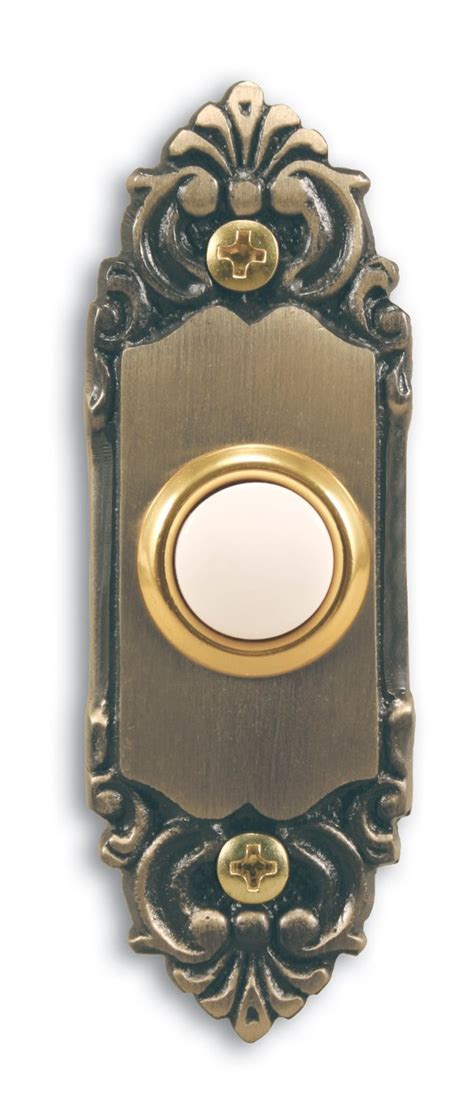 decorative push buttons decorative wireless doorbell homesfeed