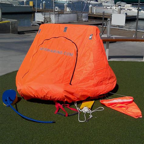 2 man coastal life raft comparison just marine