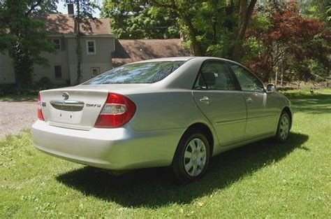 Toyota 2004 Mpg Find Used Low Mileage 2004 Toyota Camry Le Sedan 4 Cyl