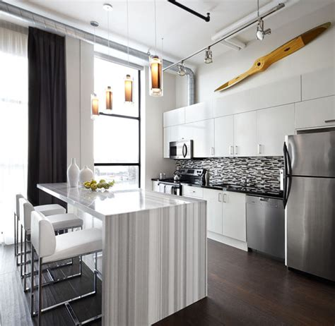 toy factory loft kitchen interior design toronto modern