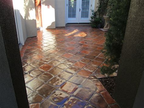 Staining Patio Pavers Paver Floor Staining Color Match California Tile Restoration