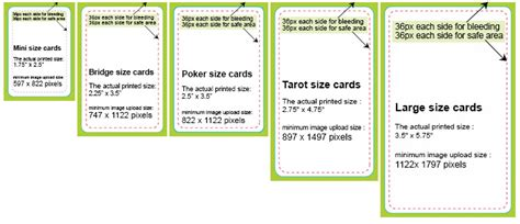 tarot card size template the card specifics screenin culture