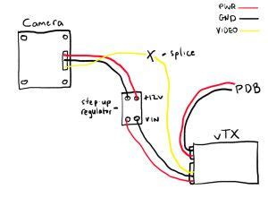 fpv wiring diagram race quads drones and mini multis