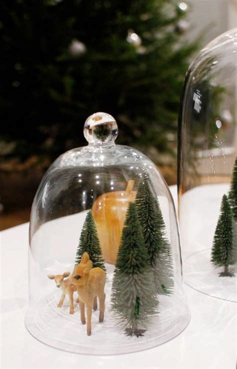 christmas decorate   holidays  bell jars