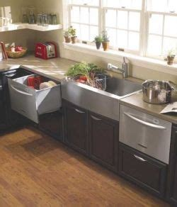 two dishwashers one sink kitchen layout a single drawer dishwasher on