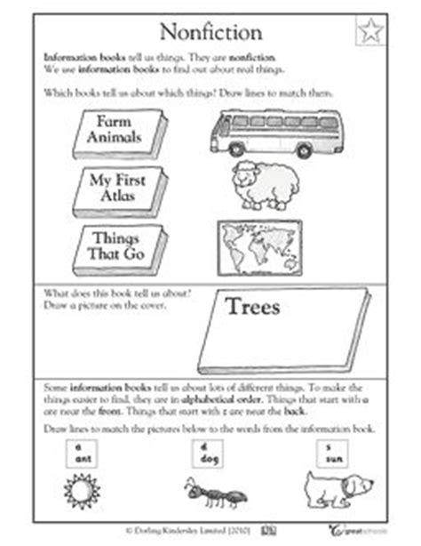 Nonfiction Worksheets by Nonfiction Worksheets And Kindergarten On