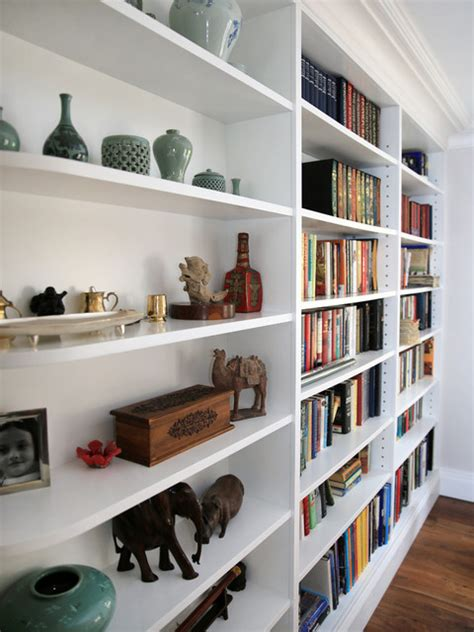 built in shelving units white curved built in shelving unit contemporary home