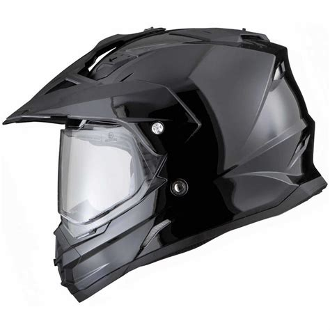 motocross helmet with visor thh tx 26 plain dual sport motocross helmet with