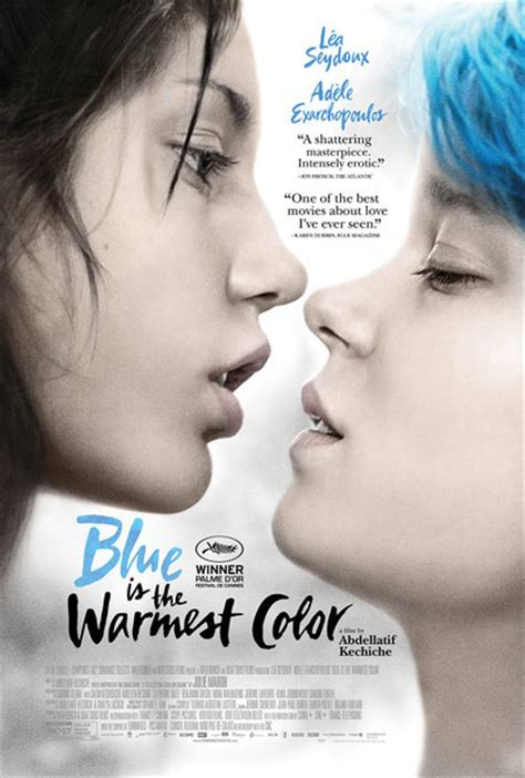 the warmest color is blue blue is the warmest color review 2013 roger ebert