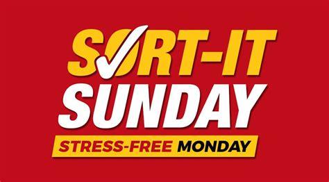 sort  sunday stress  monday news