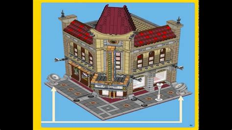 lego creator  palace cinema instructions youtube