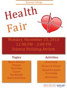 queens college health fair macaulay honors college at queens