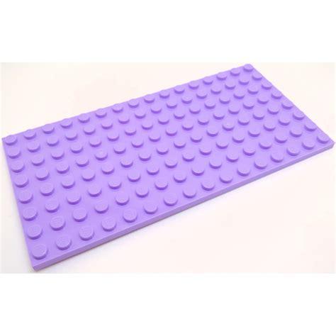 Lego Part 92438 4609726 Brick Yellow Plate 8 X 16 lego lavender plate 8 x 16 92438 brick owl lego
