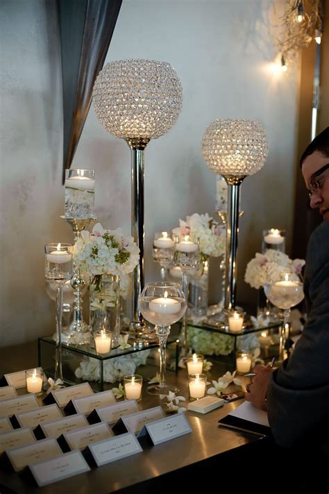 Place card table arrangements!   Wedding Receptions