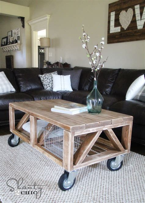 what to put on a coffee table coffee table diy shanty 2 chic