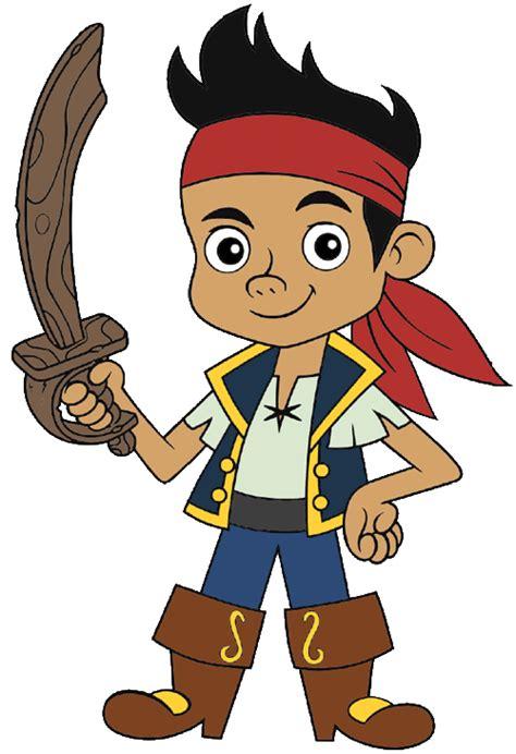 cartoon characters jake neverland pirates