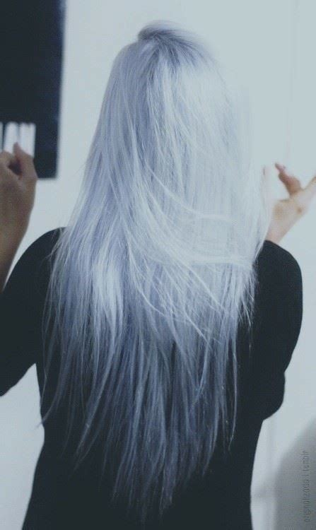 silver blue long hair pictures photos and images for facebook light blue hair tumblr