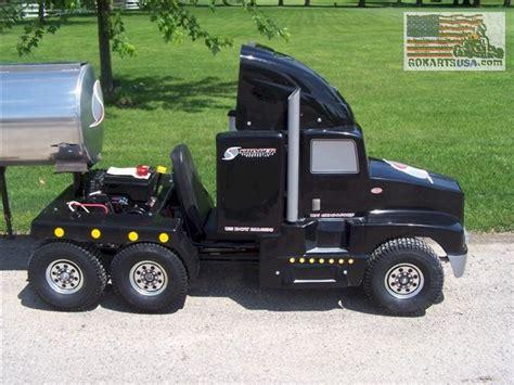truck go kart kenworth semi truck go kart