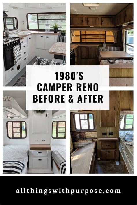 vintage  modern camper reno
