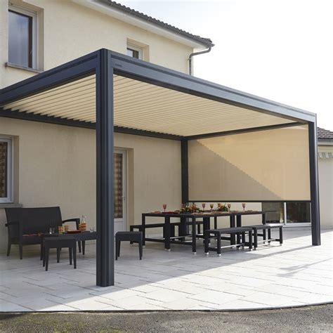Mobiles Terrassendach by Pergola Bioclimatique Hardtop Plus Monsieur Store