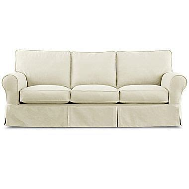 linden slipcover sofa pin by losinski on home family room