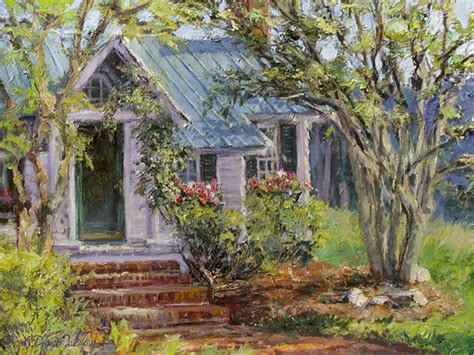 Cottage Gallery by Painting Cottage Heritage By Artist L Diane Johnson