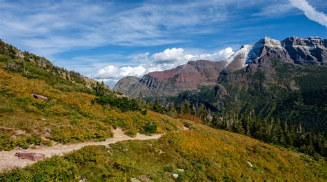 glacier national park 5 reasons to visit montana epic hiking trails in glacier