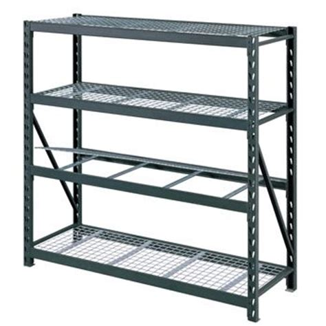 Costco Storage Racks Whalen costco uk whalen 4 tier 77 quot 195cm industrial storage