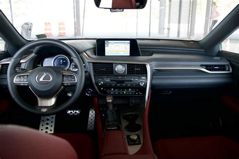 lexus rx dashboard report 2016 lexus rx 450h road test ny daily