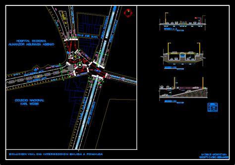 camino dwg planos de casas planos de construccion