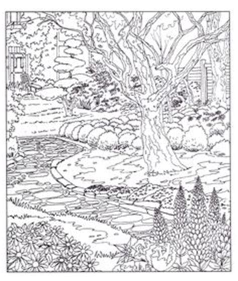 country landscape coloring page 1000 images about landscapes scenes on pinterest