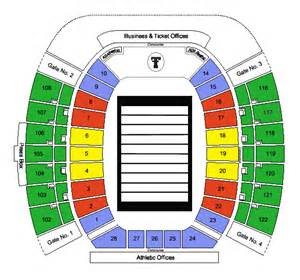 tech stadium map tech raiders tickets tech football