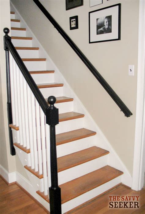 how to paint banister old house charm before and after banister