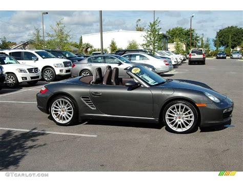 porsche slate grey metallic 2008 slate grey metallic porsche boxster 16331730 photo